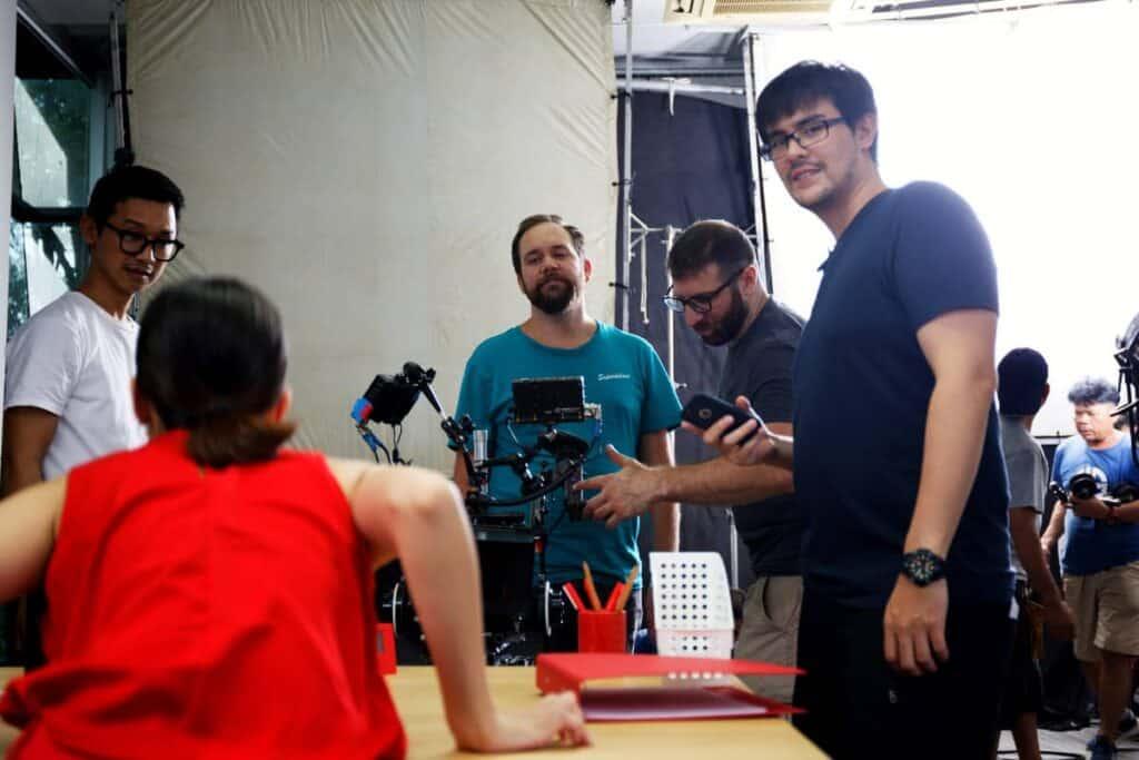 Bangkok Video Production Company Filma BTS shoot