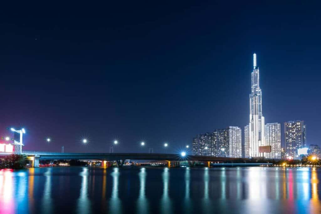 Ho Chi Minh Video Production Company Filma Landmark 81 Skyline