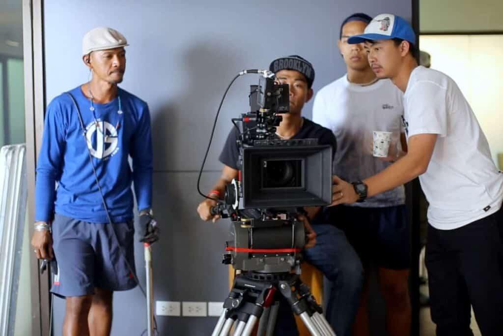 Nagoya Video Production Company Filma Camera Equipment and Crew