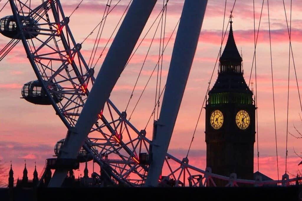 London Video Production Company Filma Locations London Eye Big Ben View