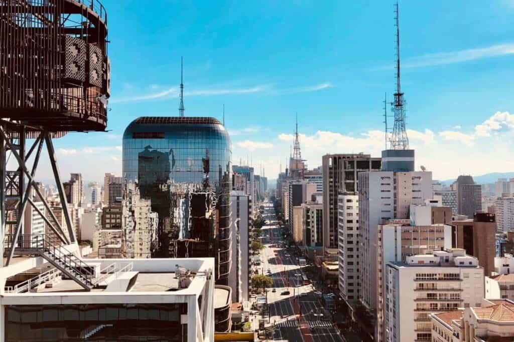 Sao Paulo Brazil Video Production Company Filma Sao Paulo Skyline