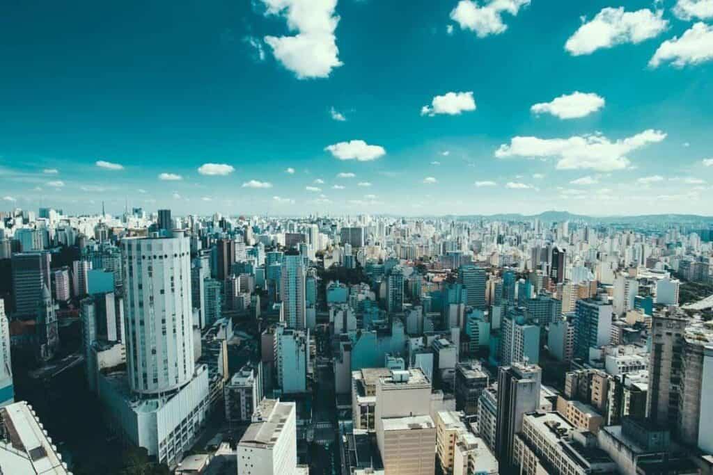 Sao Paulo Brazil Video Production Company Filma Skyline