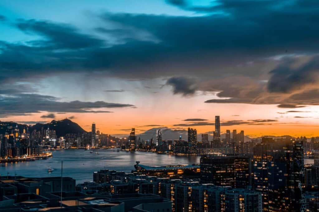 Hong Kong Video Production Company Filma Hong Kong Skyline