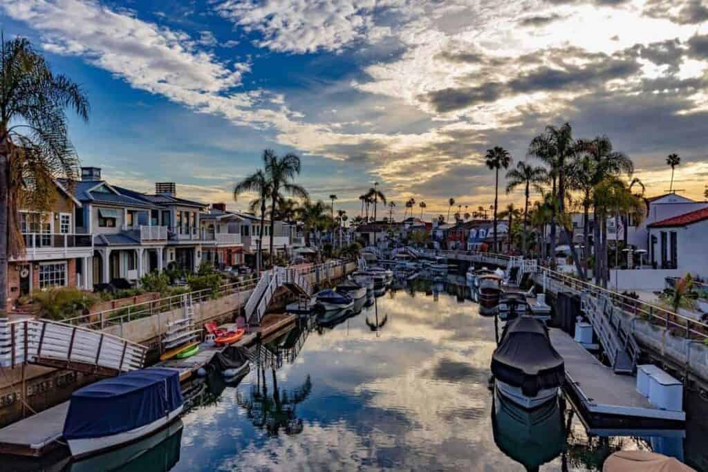 Los Angeles California USA Video Production Company Filma Locations Naples Island Long Beach
